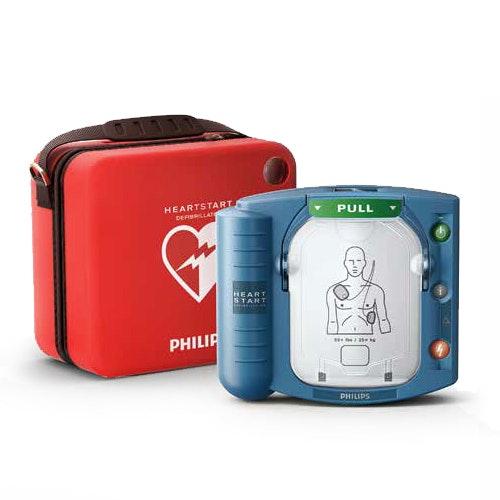 PHILIPS Heartstart HS1 ( Hjärtstartare ) med väska
