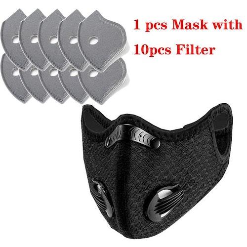 Munskydd/Mask inkl 10 st filter