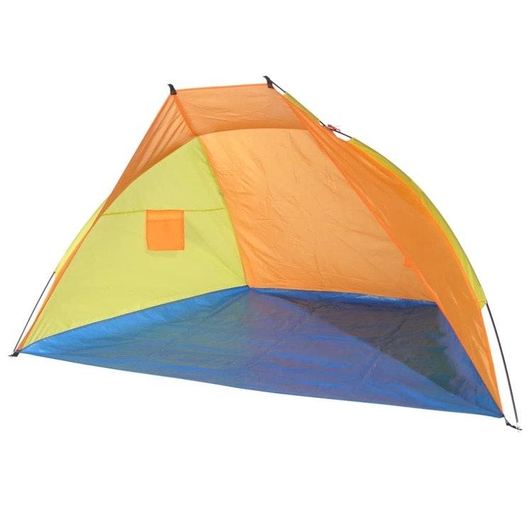 Strandtält flerfärgat 220x115x115cm