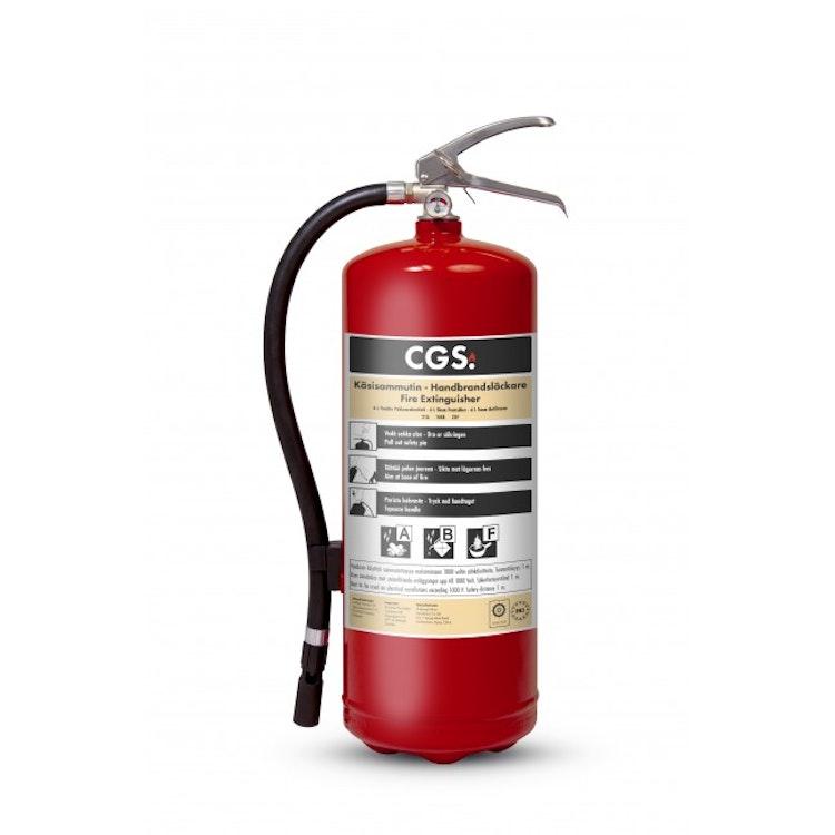 CGS 6 L skumsläckare, frostsäker -30°C, FE6CR-A-30 SE/FI