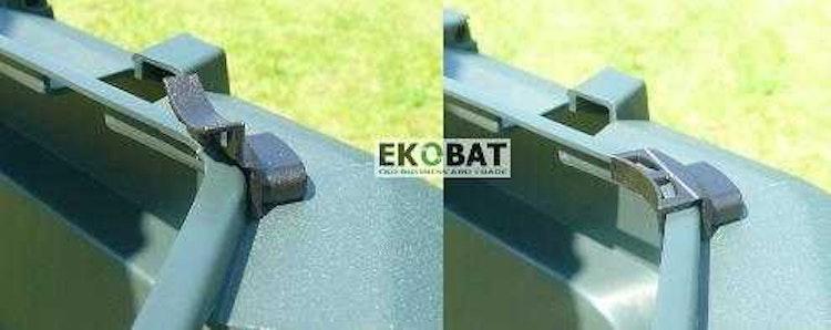 Kompostbehållare 820L, kompostbox för varm kompost utomhus åretrunt, THERMOQUICK® EXPRESS 800
