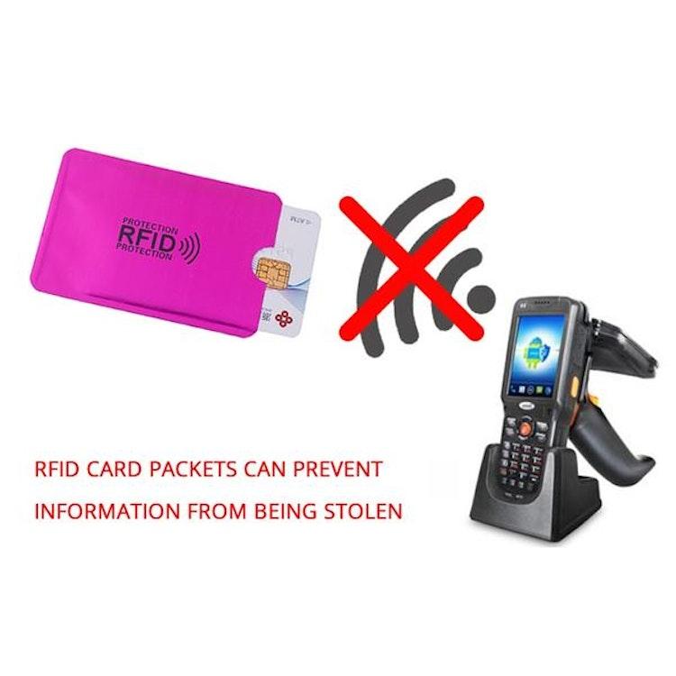 RFID fodral 5 st, skydda dej mot skimming
