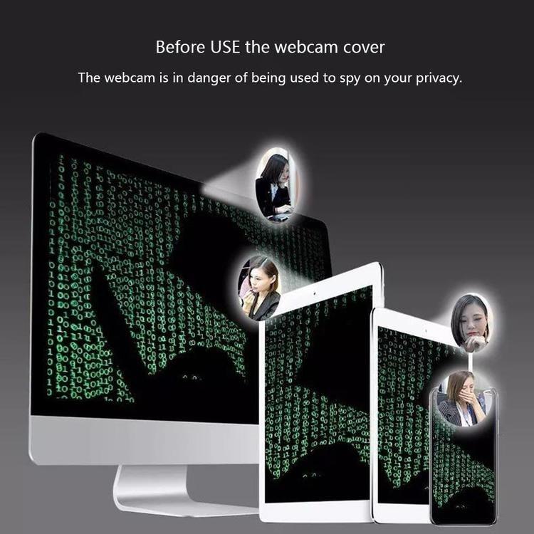 3-pack. WebCam Cover, för iPhone Web Laptop PC, iPad Tablet-kamera Mobiltelefon
