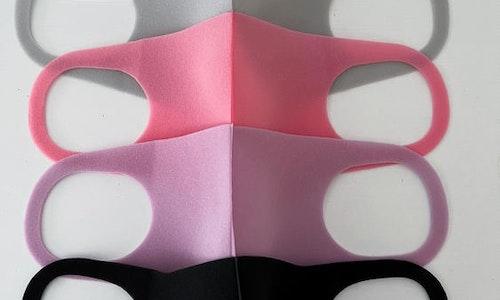 NY! 2-pack Munskydd i olika färger, tvättbar. utan ventil