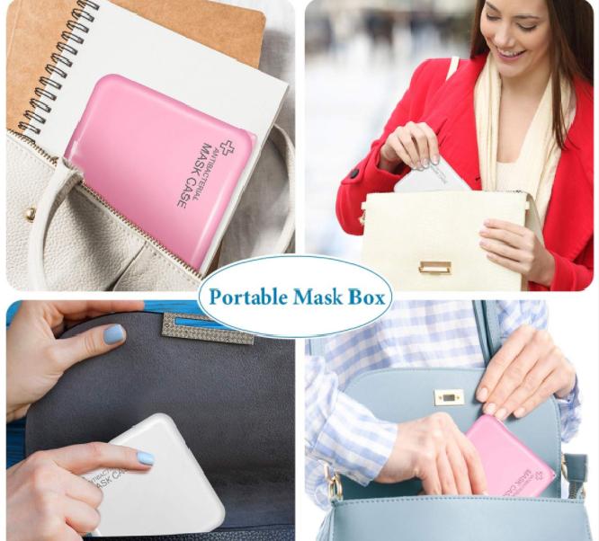 Munskydds fodral (flera färger) 2-pack Hard Case