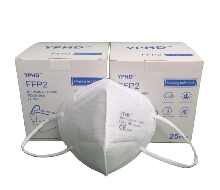 25-pack munskydd FFP2 klassad CE-märkt