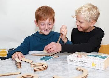 Liten Byggbox - Topp 3 Årets leksak barn 3-6 år - 20 delar