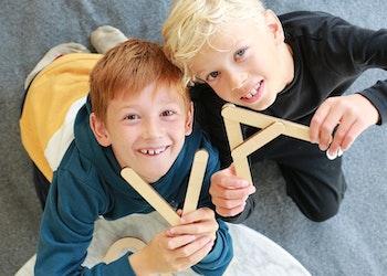 Stor Byggbox - Topp 3 Årets leksak barn 3-6 år - 38 delar