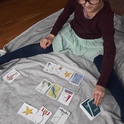 Ordlek - 1 kortlek 4 kortspel