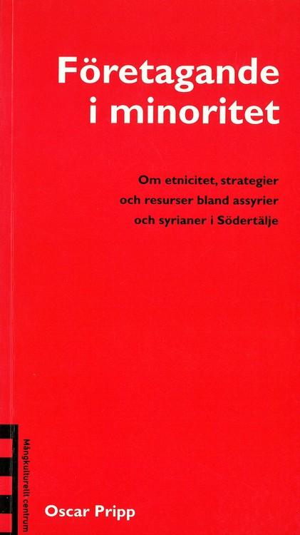 Pripp: Företagande i minoritet