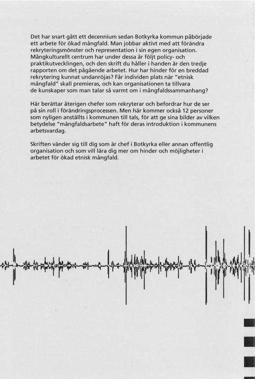 Edström: Mera mångfald i Botkyrka