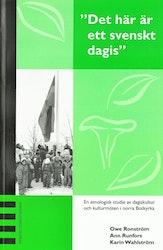 """Ronström: """"Det här är ett svenskt dagis"""""""