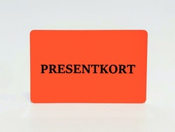 Presentkort (digitalt)