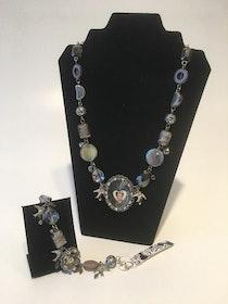 Frida Kahlo Silverheart smycken