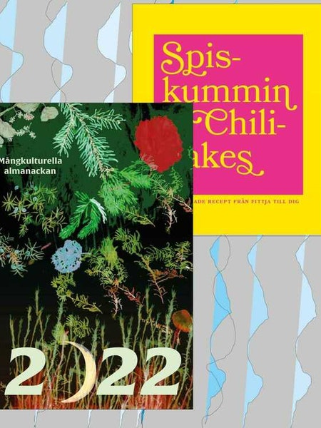 Paketpris: Juhlin, el Harrak, Hirmiz: Spiskummin & Chiliflakes + Mångkulturella Almanackan 2022