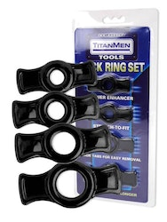 Titanmen Penis Ring Sets