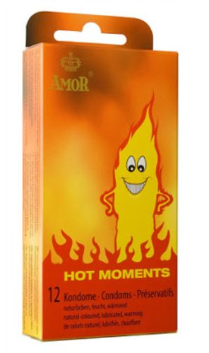 Amor Hot Moments Condoms Heat12-pack