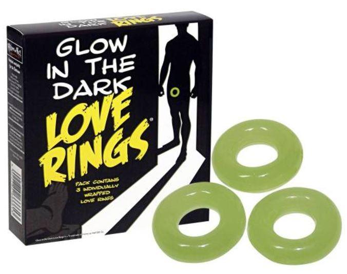 Love Ring Glow in the Dark 3 pcs