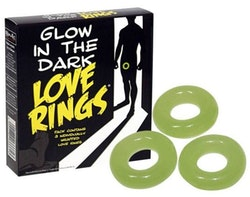 Love Ring Glow in the Dark 3 pcs
