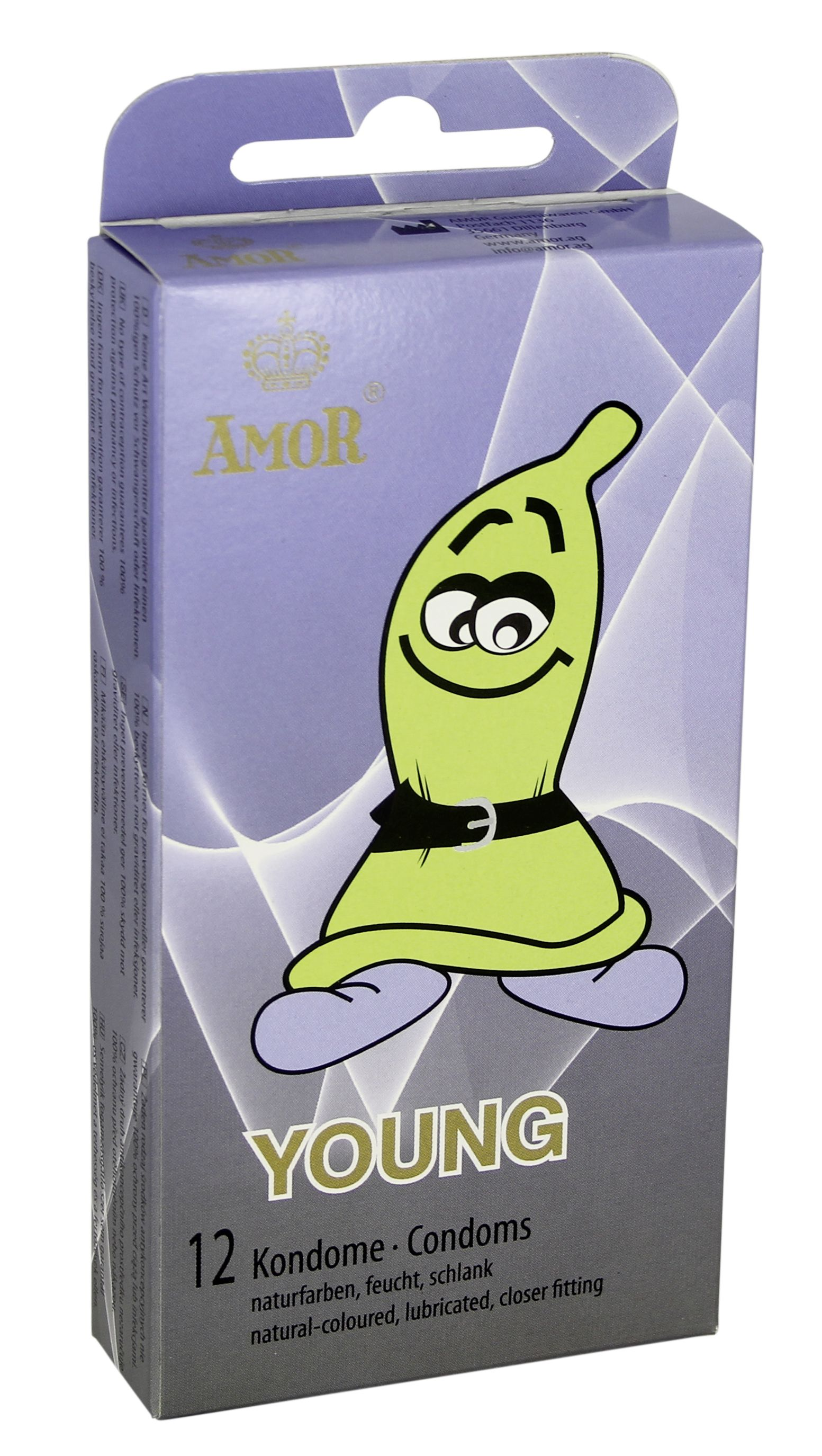 Condoms Amor Young 12 Pcs