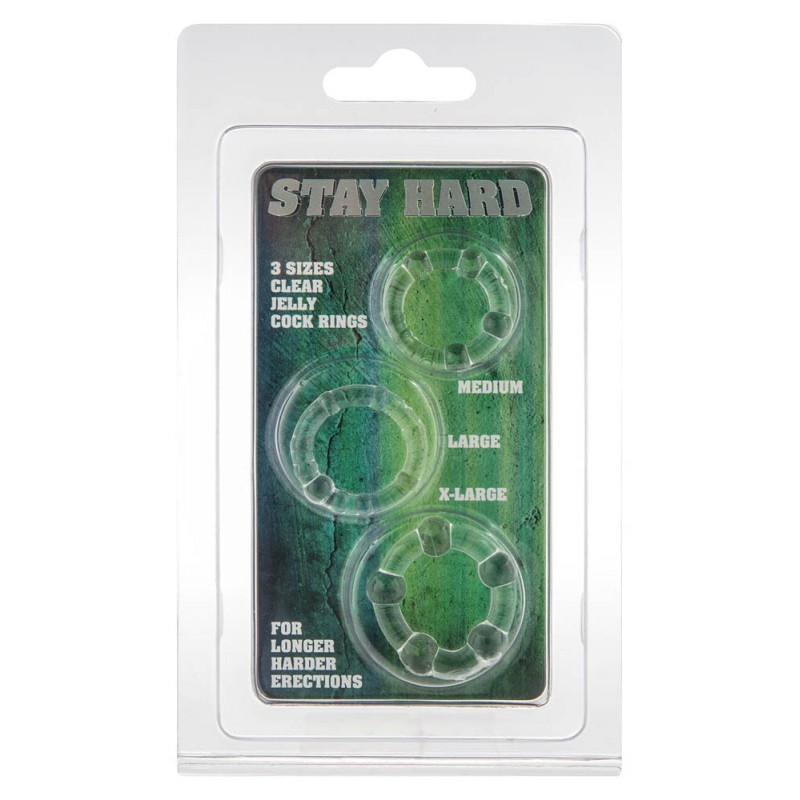 Stay Hard - Clear