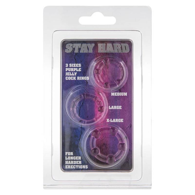 Stay Hard - Purple