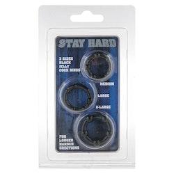 Stay Hard - Svart