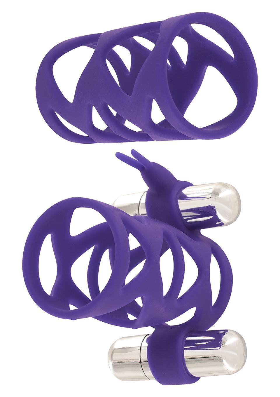 Double Tickler Sleeve Set Purple