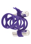 Double Tickler Sleeve Set Purple