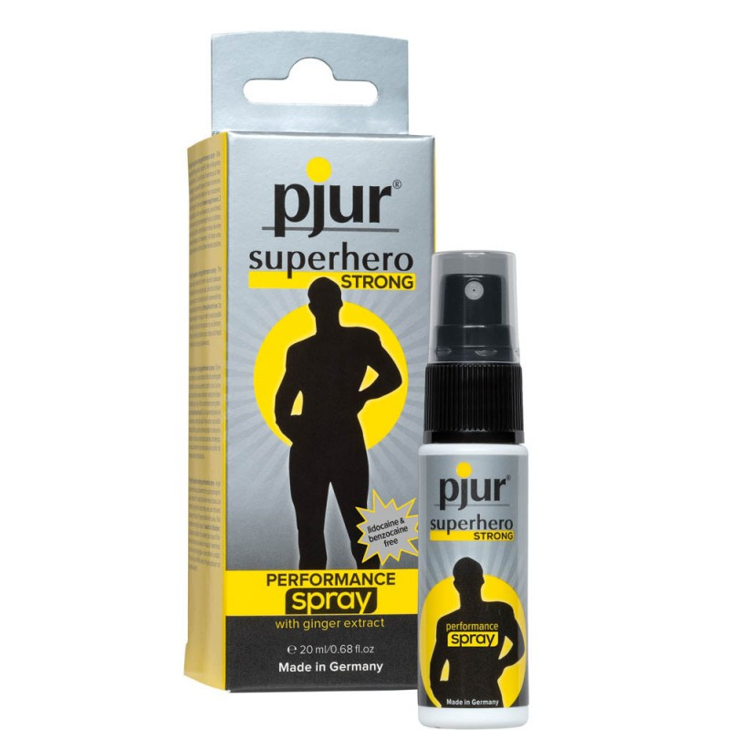 DELAY SPRAY PJUR - SUPERHERO STRONG 20 ML