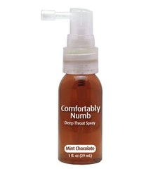 Comfortably Numb Deep Throat Spray - Choklad Mint