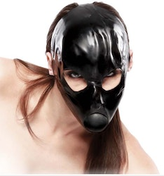 Latex Ball Gag Mask