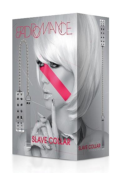 Bad Romance Translucent Slave Collar