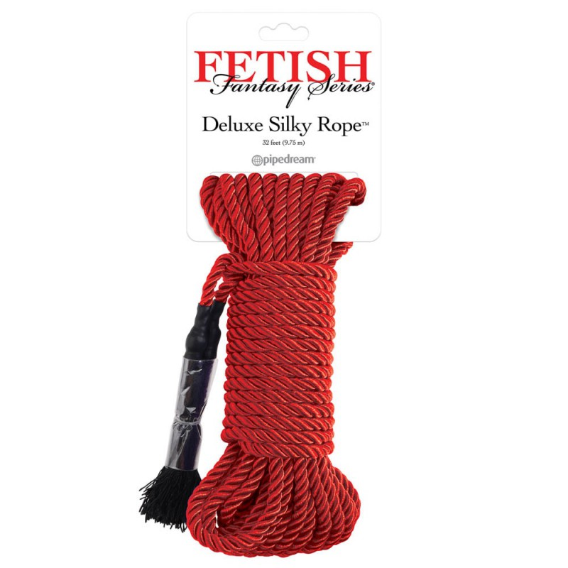 Deluxe Silky Rope - Red