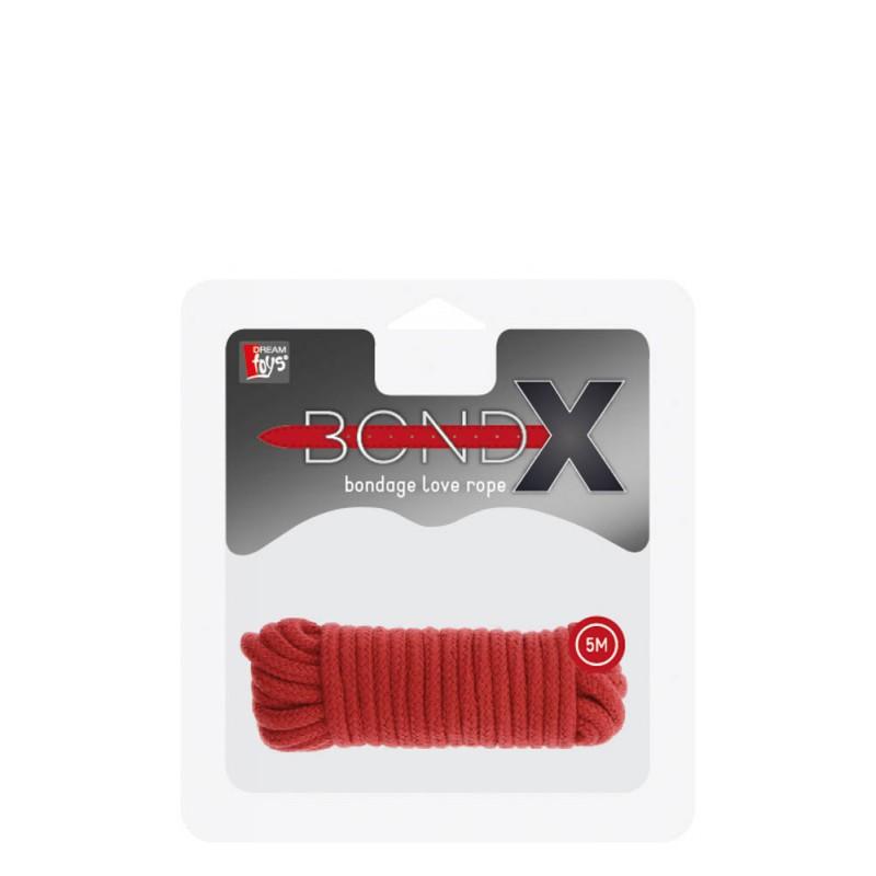 Bondx Love Rope - 5M - Red