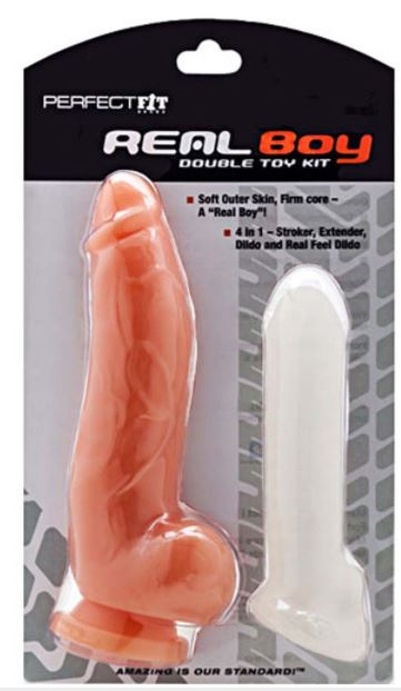 Perfect Fit - Real Boy Double Toy Kit