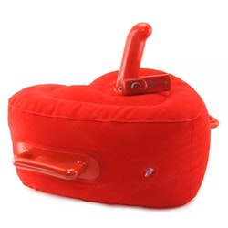 Inflatable Lover's Hot Seat - Red