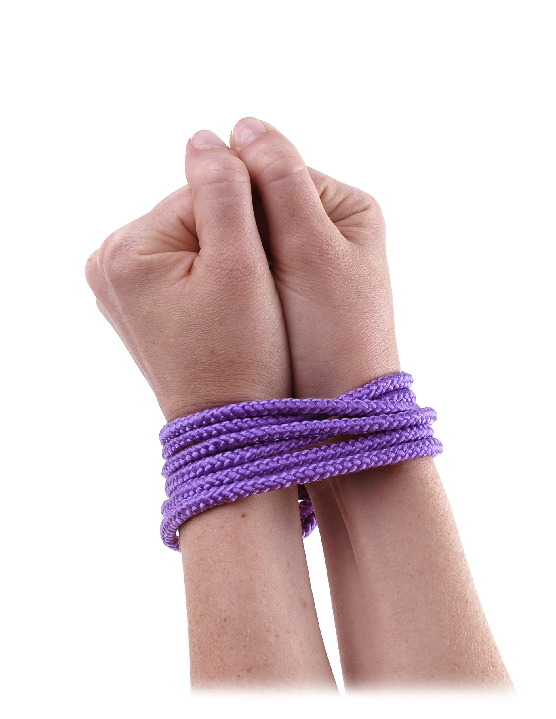 Mini Silk Rope - Purple
