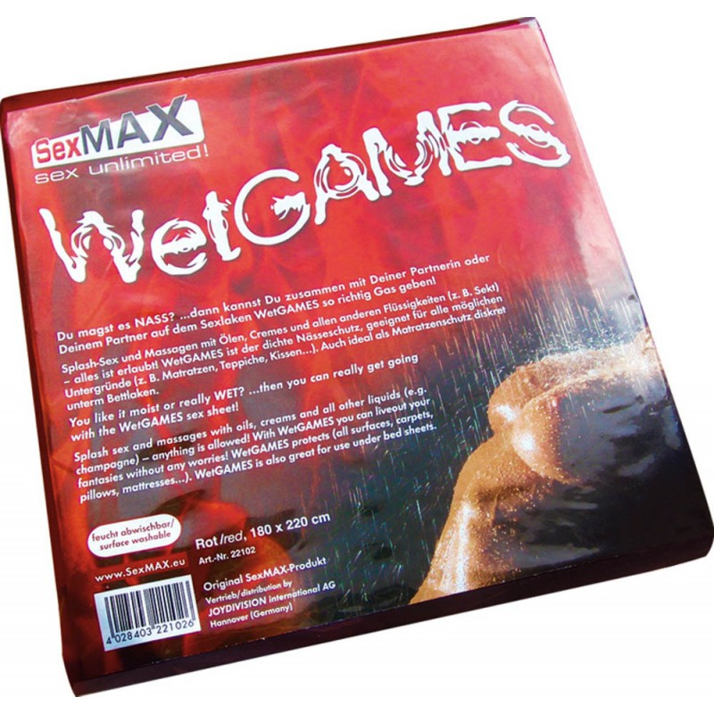 Wet Game - Red - 180 * 220 cm