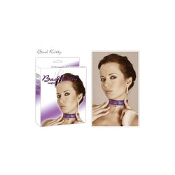 Collar - Purple - Bad Kitty