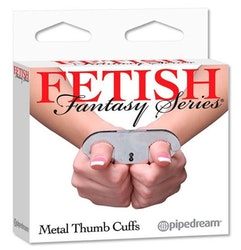 Metal Thumb Cuffs