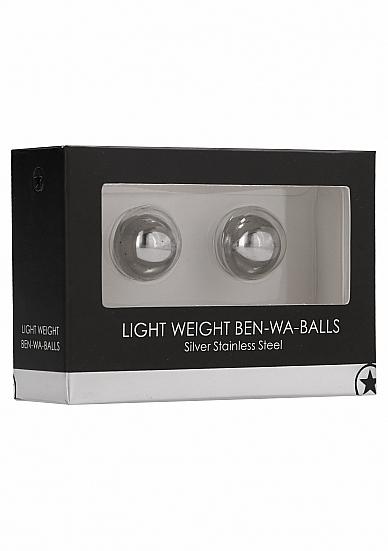 Light Weight Ben-Wa-Balls - Silver
