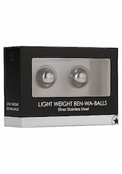 Light Weight Ben-Wa-Balls - Silver