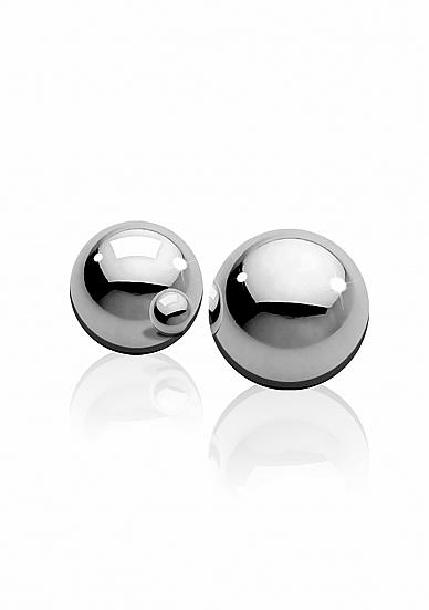 Medium Weight Ben-Wa-Balls - Silver