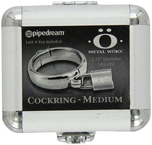 "Metal Worx Luv Ring 1.75"" Silver"