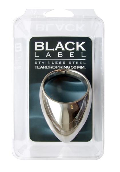Stainless Steel Teardrop Cock Ring 50 mm