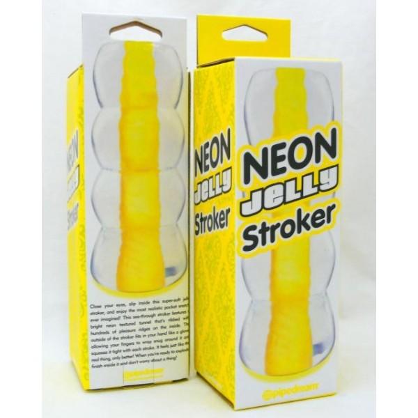 Neon Jelly Stroker
