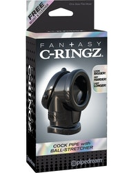 C-Ringz - Cock Pipe with Ball-Stretcher