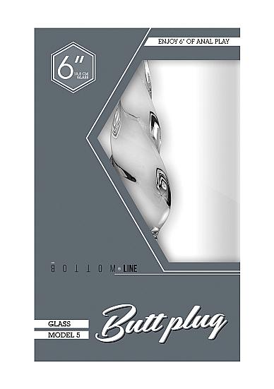Buttplug - Glass - 6 Inch