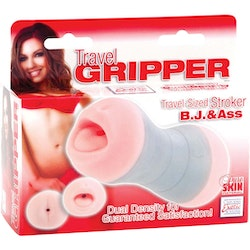 Travel Gripper Ass & B.J - Pink